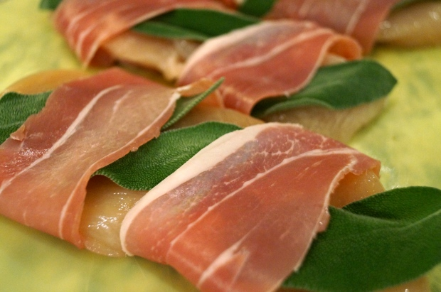 wrap with prosciutto