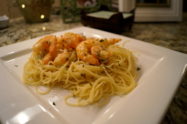 serve with angel hair pasta