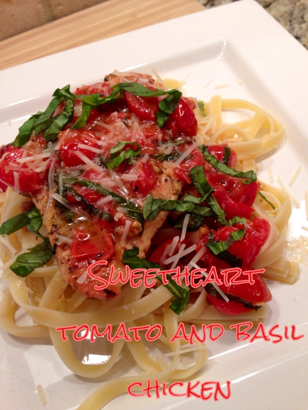 Sweetheart Tomato and Basil Chicken | Poore Amy