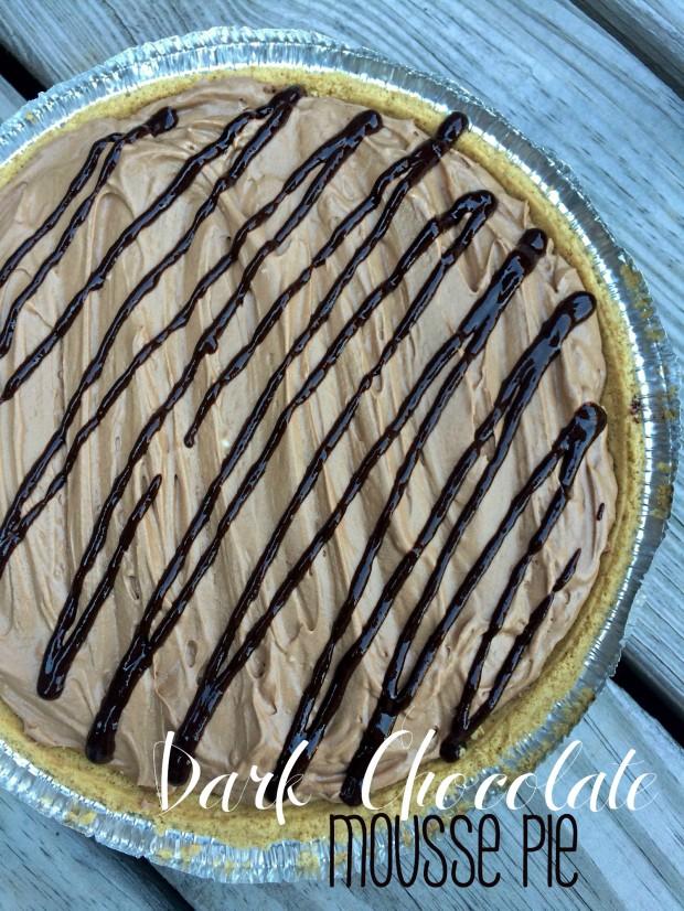Dark Chocolate Mouse Pie